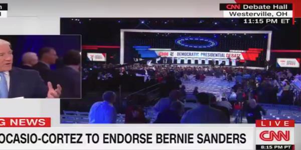 CNNs John King suggests Alexandria Ocasio-Cortezs endorsement of Sanders is too urban and too internet