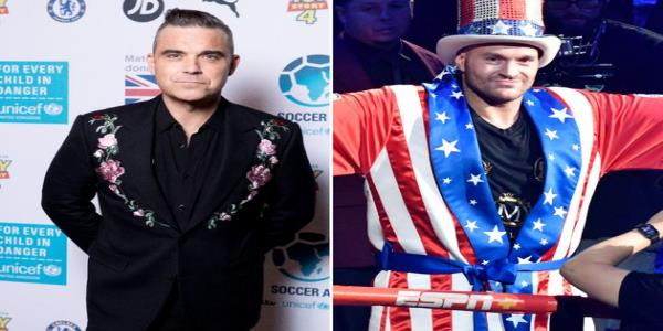 Robbie Williams New Christmas Album Features Tyson Fury, And No We Dont Know Why Either