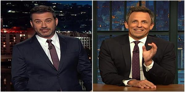 Jimmy Kimmel and Seth Meyers shred the GOPs latest excuses for Trumps ballooning Ukraine scandal
