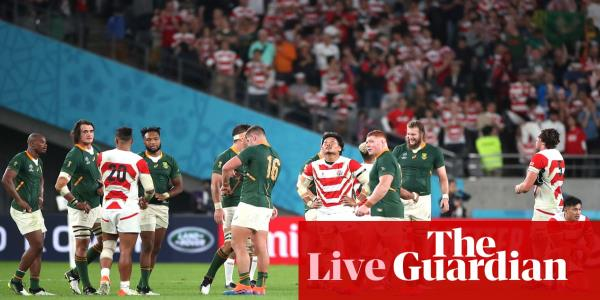 Japan v South Africa: Rugby World Cup 2019, quarter-final – as it happened