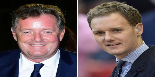 Piers Morgan Brands BBC Breakfasts Dan Walker A Snivelling Sycophant In Clash Over Meghan And Harry Documentary