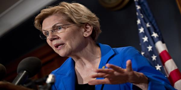 Warren Steps Into Repo Turmoil, Asks Mnuchin for Answers