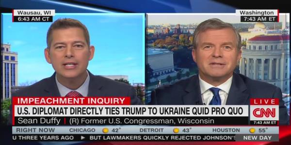 Sean Duffy Wrecked by Republican CNN Colleague: 'My Nose Is Not a Heat-Seeking Missile for Trump's 'Backside'