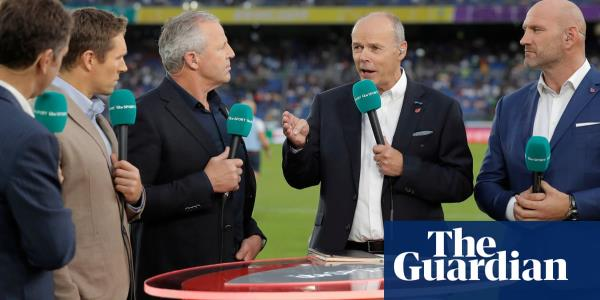 Rugby World Cup final's TV viewing figures hit 12.8m peak – the best of 2019