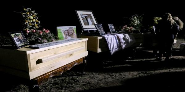 Remains of five more victims of Mexican Mormon killings are buried