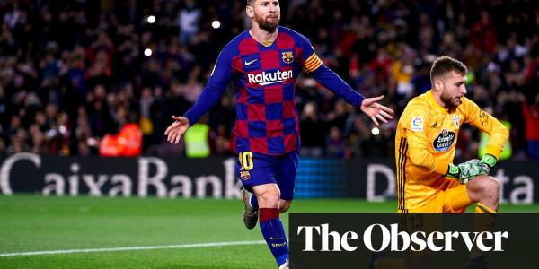 European roundup: Lionel Messi hat-trick sends Barcelona top as Real chase
