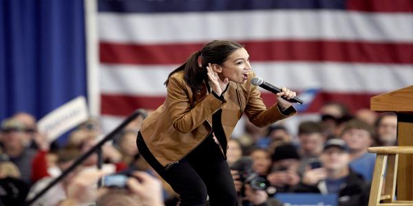 AOC brings star power to Iowa for Sanders
