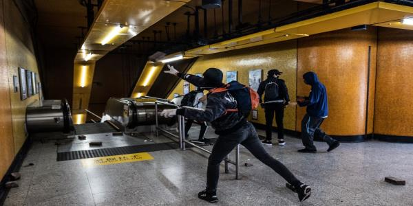Police Warn `Rioters After University Clashes: Hong Kong Update