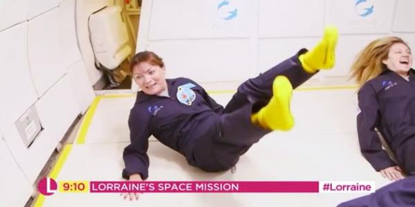 Lorraine Kellys Zero-Gravity Experience Was As Ridiculous And Joyful As Youd Hope