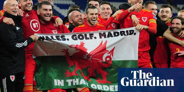 Gareth Bale and that Wales, golf, Madrid flag: Real are not amused