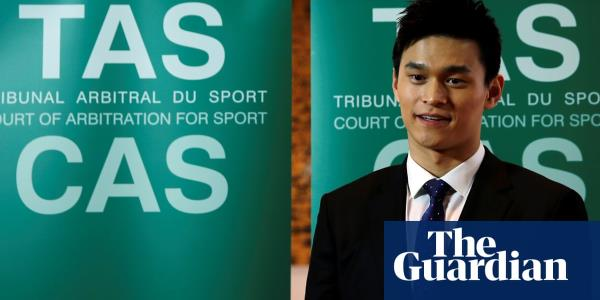 Im a builder: Sun Yang drug tester an unqualified ring-in, swimming appeal told