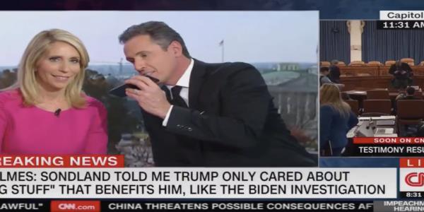 CNNs Chris Cuomo struggles to disprove Trump tweet by awkwardly calling his mom live on the air