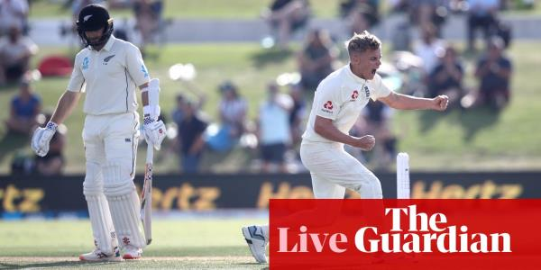 New Zealand v England: first Test, day two – as it happened