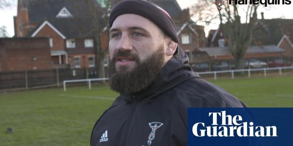 Hey, horsey!: Harlequins prop Joe Marler goes viral – video