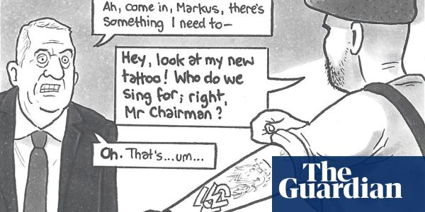 David Squires on ... how long can Markus babble on at Leaky Wanderers?