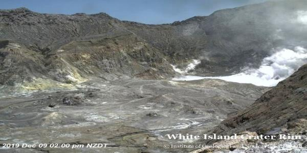 New Zealand Volcano: Five People Dead After Eruption On White Island
