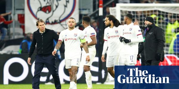 Memphis Depay clashes with Lyon fans over Marcelo donkey banner