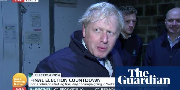 Boris Johnson hides in fridge to avoid Piers Morgan interview