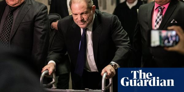 No chance Harvey: the charges against Weinstein are so serious his zimmer-frame shuffle just doesnt cut it