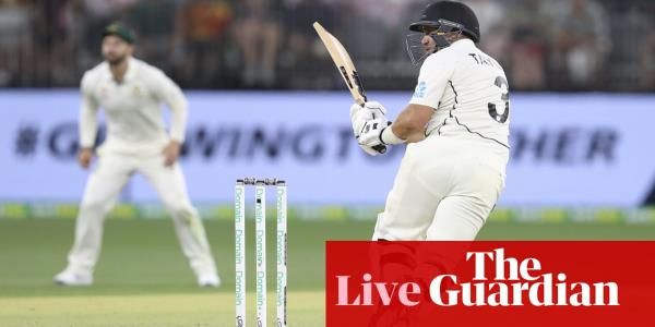 Australia v New Zealand: first Test, day three – live!