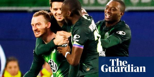 European roundup: Gladbach stunned by Wolfsburg while Ronaldo hits two