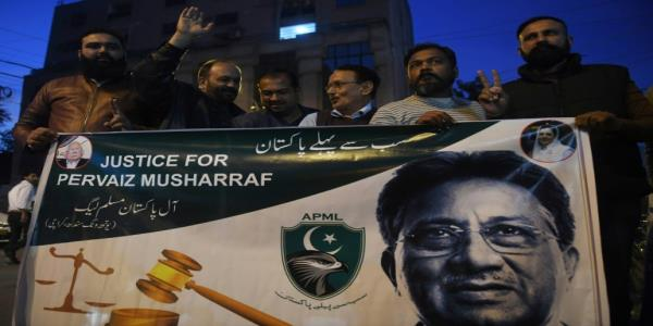 Pakistan military condemns death sentence of former chief Musharraf