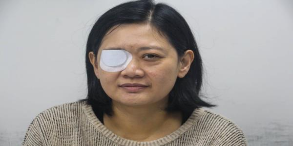 Hong Kong police sued by journalist who lost eye after being hit with a rubber bullet