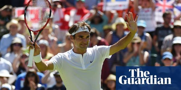 Faultless Roger Federer's appeal transcends tennis to become an icon | Kevin Mitchell