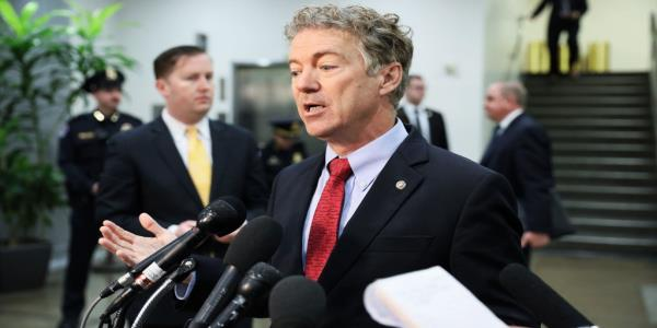 Rand Paul: 'You'd Have to Be Brain-Dead' to Believe Killing Soleimani will Bring Iran to Negotiating Table
