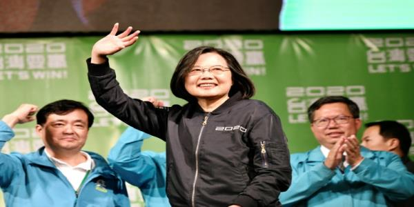 China slams US for congratulating Tsai on Taiwan poll win