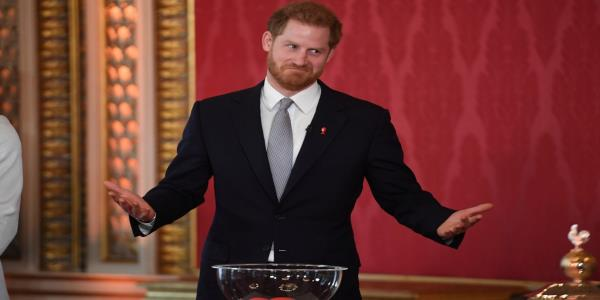 Thursday evening news briefing:  Prince Harry breaks cover