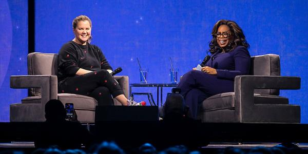 Amy Schumer Opens Up To Oprah About Pregnancy, Parenthood, IVF Treatments ⁠— And Poop