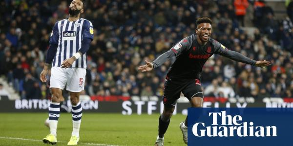 Tyrese Campbell extends West Brom's winless run with only goal for Stoke