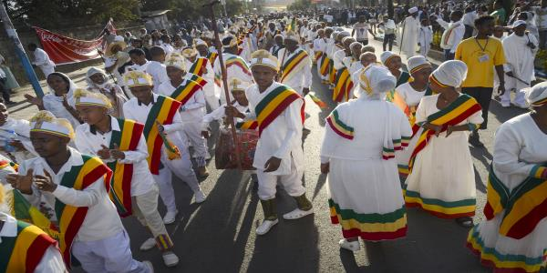 3 killed, 100-plus hurt in collapse during Ethiopia ceremony