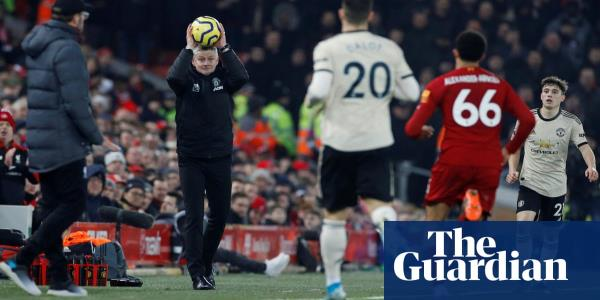 Solskjær insists Liverpool defeat shows Manchester United are 'on right track'