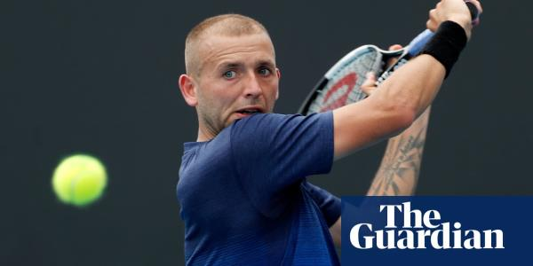 I can only be happy: Dan Evans exits Australian Open with a smile