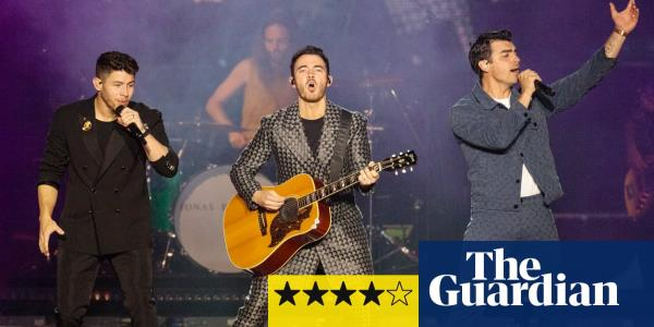 Jonas Brothers review – slick, bombastic and knowingly cheesy