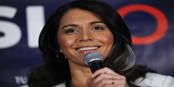 Tulsi Gabbard drops out of the 2020 race and offers Biden her full support