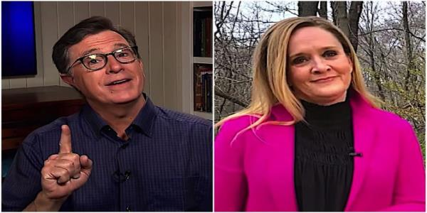 Stephen Colbert and Samantha Bee explain why Trumps normal tricks arent working in the coronavirus crisis