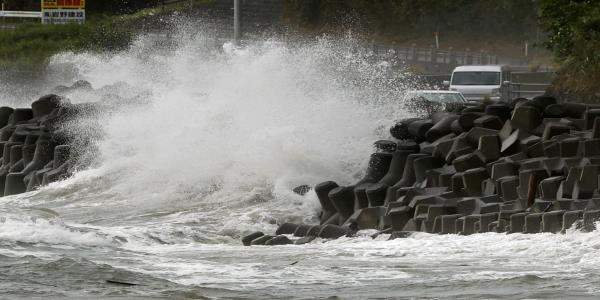 Typhoon Haishen: 100,000 Families Told To Evacuate As Storm Edges Closer To Japan