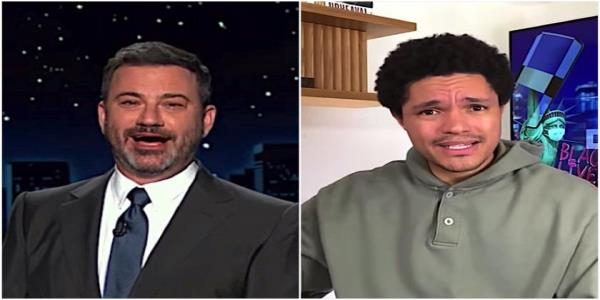 Jimmy Kimmel and Trevor Noah wonder what other mad conspiracies Trump will hit before Election Day