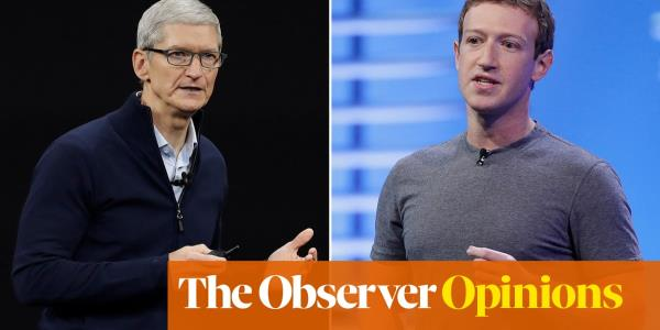 Forget Zuckerberg and Cooks hypocrisy – its their companies that are the real problem