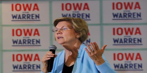 Warren would ask for resignation of all of Trumps political appointees
