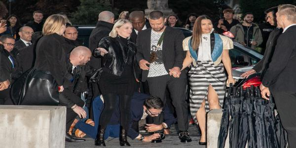 Justin Timberlake Is Latest Target For Serial 'Prankster' Vitalii Sediuk As He Attempts To Floor Singer At Paris Fashion Week