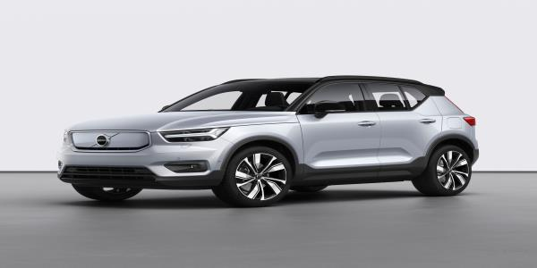 Volvo launches very first fully electric vehicle: the XC40 Recharge