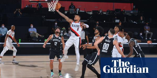 Unstoppable Damian Lillard hauls Trail Blazers into NBA play-in series