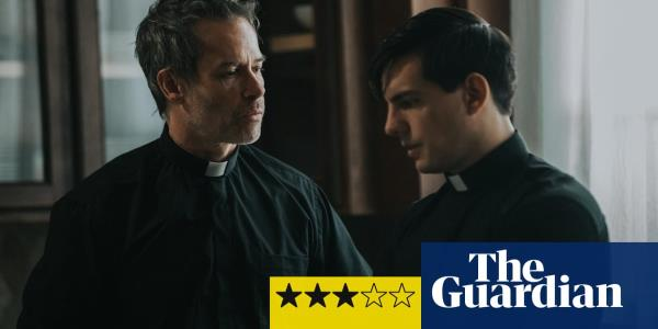 The Seventh Day review – Guy Pearce's hipster priest dices with the devil