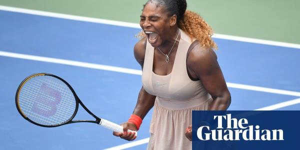 Serena Williams hits top gear to end Maria Sakkaris challenge at US Open