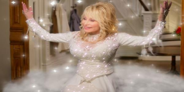 Dolly Partons New Christmas Film Looks Even More Camp Than We Thought Possible