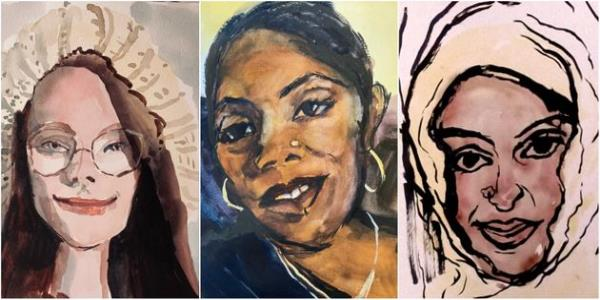 This Artist Is Painting Portraits Of 118 Women Killed By Men In A Year